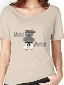 Mortal Wombat! Women's Relaxed Fit T-Shirt