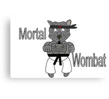 Mortal Wombat! Canvas Print