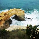 The Arch at Peterborough, Vic. Australia along Great Ocean Road by EdsMum
