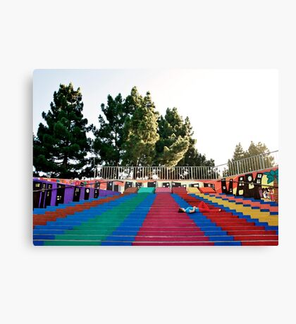 Fitting In Canvas Print
