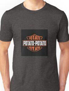 Harley Davidson Potato Unisex T-Shirt