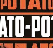 Harley Davidson Potato Sticker