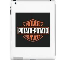 Harley Davidson Potato iPad Case/Skin