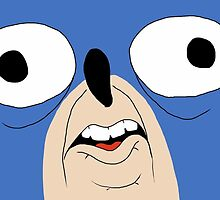 Sanic The Hegehog by Bluebirdd065