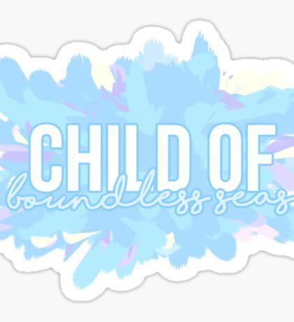 Child of Boundless Seas Sticker