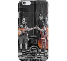 Street Band - selective colour iPhone Case/Skin