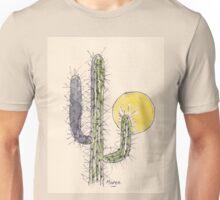 Cactus sunset Unisex T-Shirt