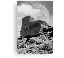 Full Moon Desert Ruins Canvas Print