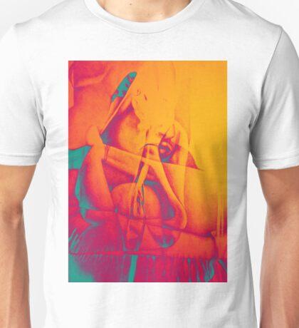 Lock me up inside, 2016, 50-70cm, graphite crayon on paper Unisex T-Shirt