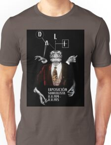 Salvador Dali Surreal Potrait  Unisex T-Shirt