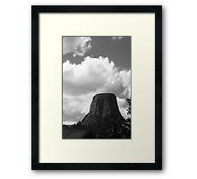 Devil's Tower, Wyoming Framed Print