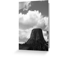 Devil's Tower, Wyoming Greeting Card