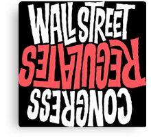 Wallstreet Canvas Print