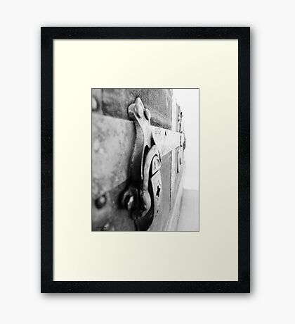 Lock of Ages Framed Print
