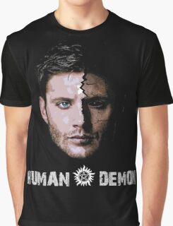 Human X Demon Graphic T-Shirt