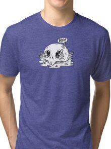 worm in skull Tri-blend T-Shirt