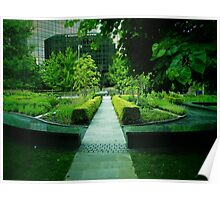 Green Scene Poster