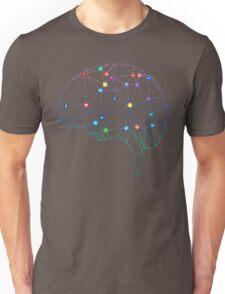 Brain Social Network Unisex T-Shirt