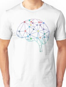 Brain Social Network Unisex T-Shirt