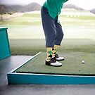 Golf Swing by Kelly Nicolaisen