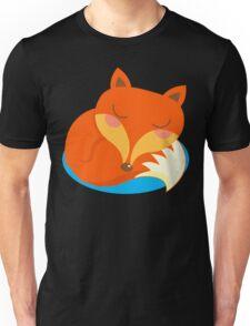 shhh... Fox is sleeping. Unisex T-Shirt