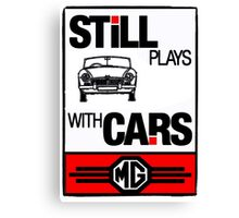 Still Plays with MG Cars Canvas Print