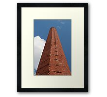 smokestack pyramid in the sky Framed Print