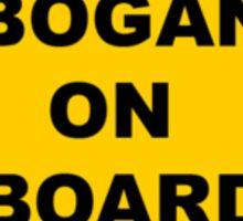 BOGAN ON BOARD Baby Style Sticker Car Window Sticker