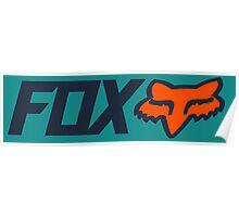 Fox Racing Poster