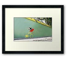 Show Off Framed Print