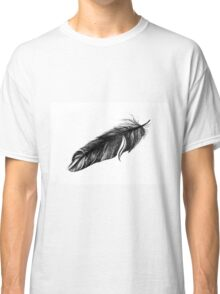 Soft drawing of feather Classic T-Shirt