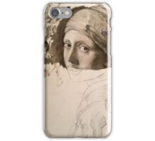 Unfinished painting iPhone Case/Skin