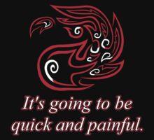 Red Mana: Fiery Beatdown by davidjonesart