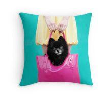 Doggie Bag Throw Pillow