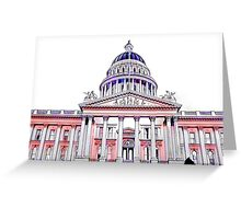 California State Capitol Building Greeting Card