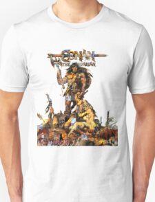 Conan Gridwork and Logo Unisex T-Shirt