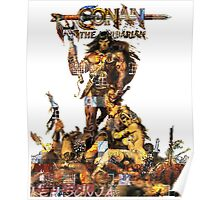 Conan Gridwork and Logo Poster