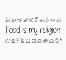 Food is my religion One Piece - Long Sleeve