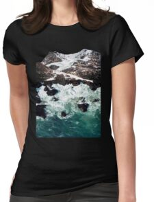 Sea and Mountains Womens Fitted T-Shirt