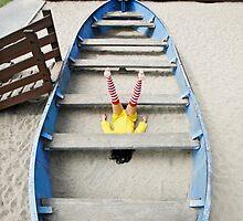 Girl Under Board by Kelly Nicolaisen