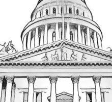 California State Capitol Building Sticker