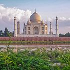 Taj Mahal from Mehtab Bagh by TonyCrehan