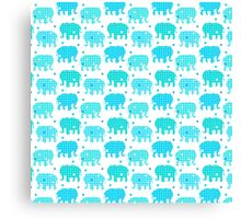 Elephant Dots Canvas Print