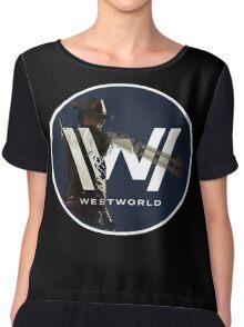 Westworld TV Logo Chiffon Top