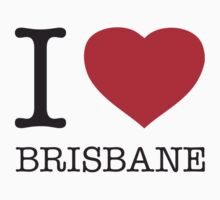 I ♥ BRISBANE One Piece - Long Sleeve