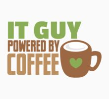 IT GUY powered by coffee One Piece - Short Sleeve