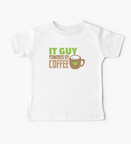 IT GUY powered by coffee Baby Tee