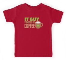 IT GUY powered by coffee Kids Tee