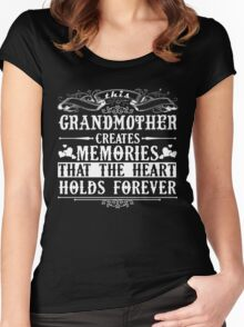 Grandmother Shirt Women's Fitted Scoop T-Shirt