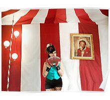 Circus Folk Poster